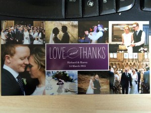 wedding thankyou card 1